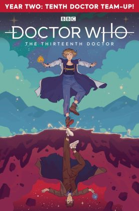 Titan Comics – Doctor Who: The Thirteenth Doctor: Season Two #2 – Cover A: Hannah Templer