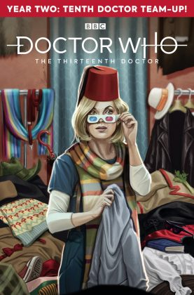 Titan Comics – Doctor Who: The Thirteenth Doctor: Season Two #2 – Cover D: Claudia Ianniciello