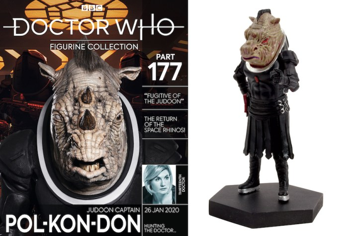 Hero Collector Judoon Captain Pol-Kon-Don Paul Condon Doctor Who Figurines Series 12 Fugitive of the Judoon The Timeless Children