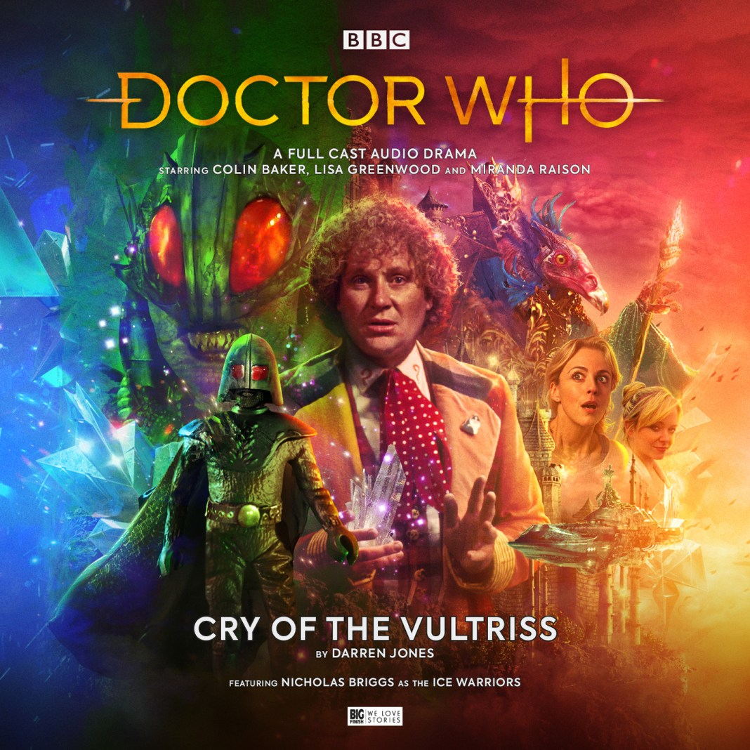 Big Finish - Doctor Who: Cry of the Vultriss - Cover