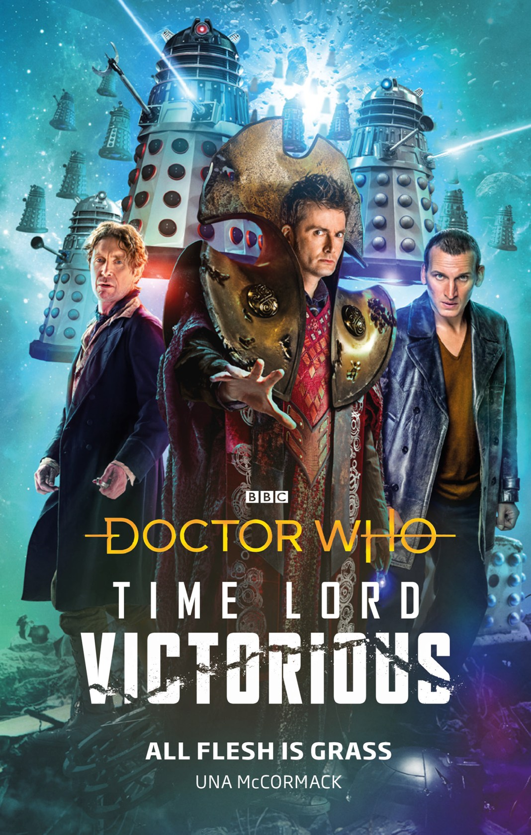 Doctor Who: All Flesh Is Grass (c) BBC Books Time Lord Victorious Tenth Doctor Eighth Doctor Ninth Doctor Daleks BBC Books