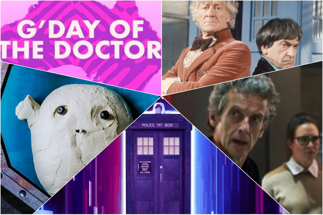 Another week of events as Doctor Who pros and fans continue to help each other through the Lockdown