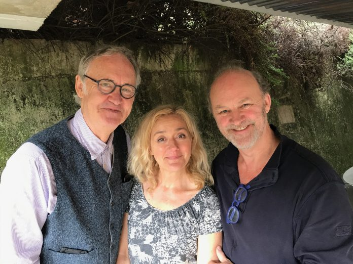 Big Finish - Jeremiah Bourne In Time - (L-R) Nigel Planer, Sophie Thompson, Tim McInnerny