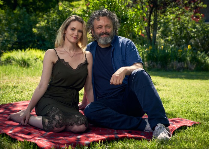 BBC One - Staged - Anna Lundberg and Michael Sheen (C) GCB Films/Infinity Hill