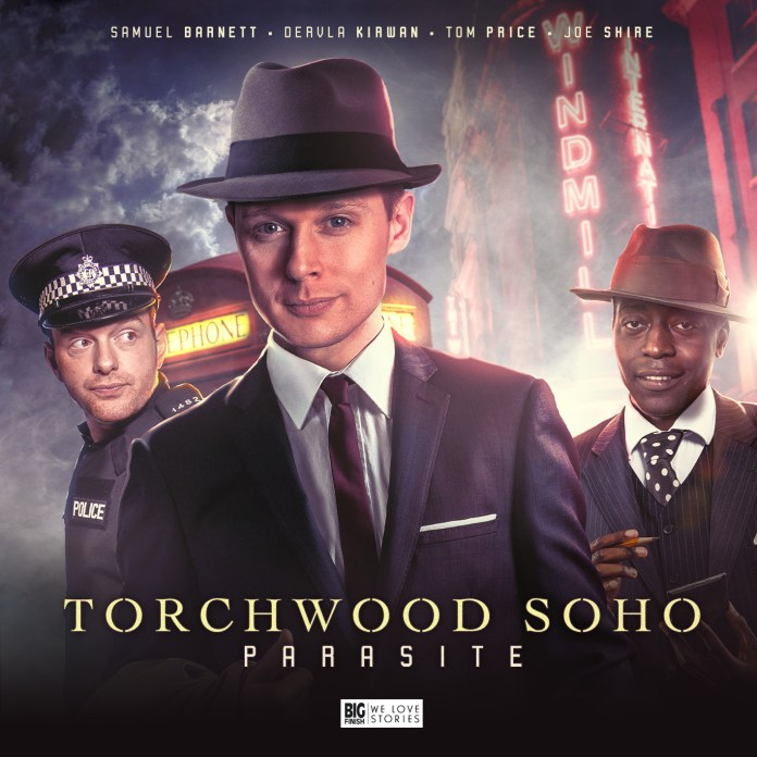 Torchwood: Soho kicks off with 'Parasite,' out August from Big Finish (c) Big Finish Productions