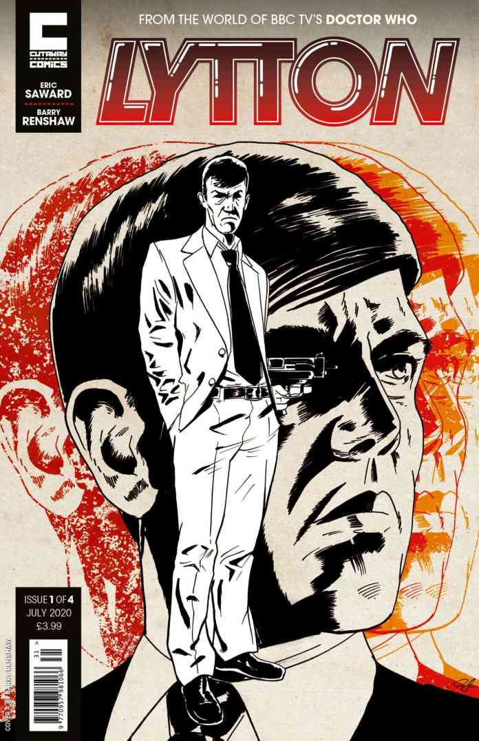 Lytton #1 Cover A by Barry Renshaw (c) CutAwayComics Doctor Who Resurrection of the Daleks Attack of the Cybermen Maurice Colbourne Comics