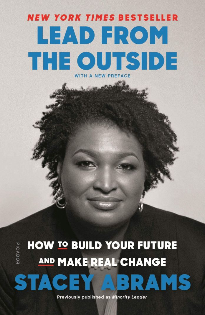 Among Abrams' books is her account of the lessons learned from being Minority Leader in Georgia (c) Picador Stacey Abrams