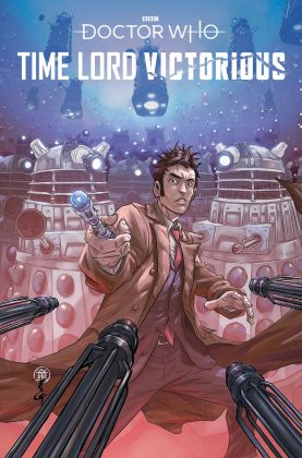 Titan Comics – Doctor Who: Time Lord Victorious - Defender of the Daleks #1 – Cover C: Andie Tong