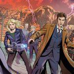Titan Comics – Doctor Who Comic #1 – Cover C: Christopher Jones