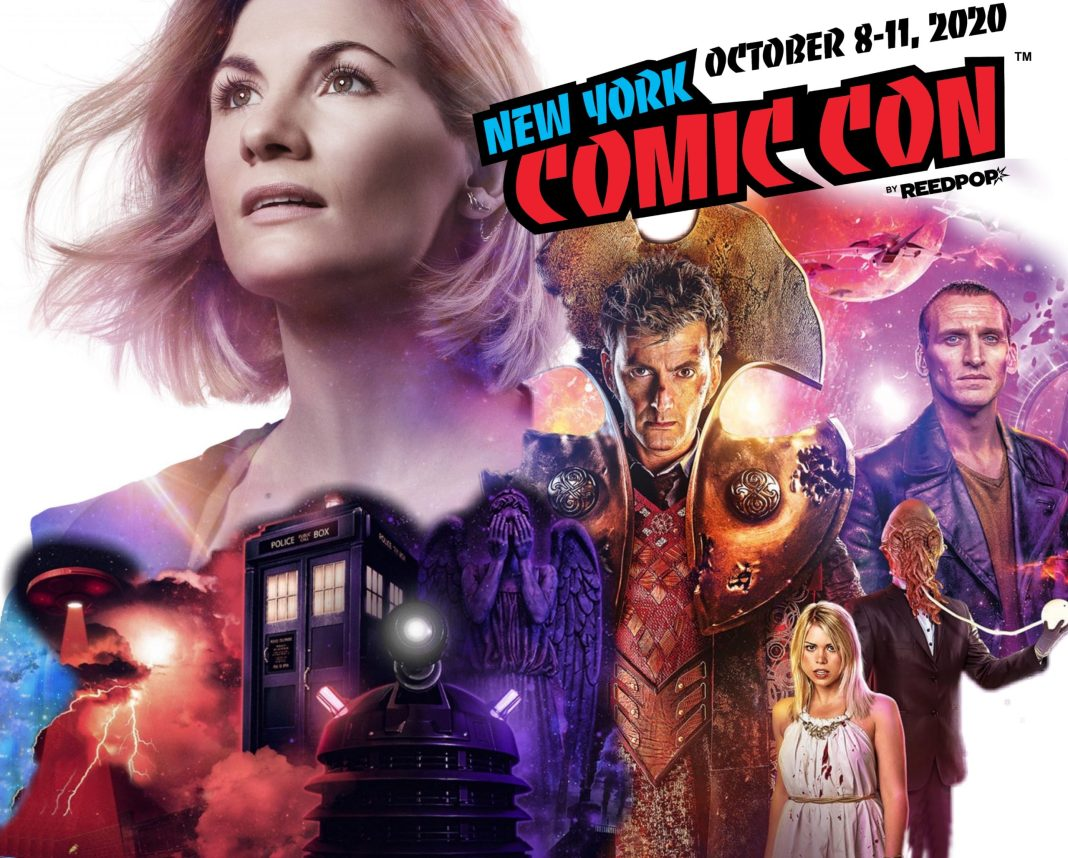 Doctor Who's presence at NYCC 2020 includes panels with Jodie Whittaker, the creators of Time Lord Victorious, and with the creators of the next generation of Doctor Who computer games (c) NYCC/BBC Studios Metaverse MCM Comic Con Reedpop