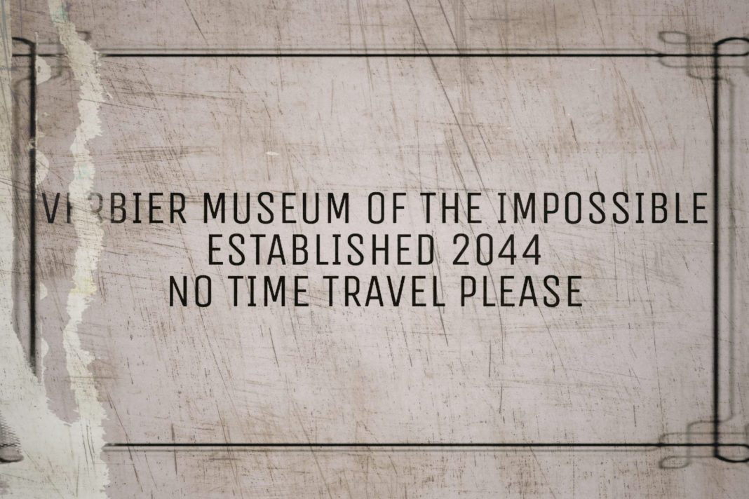 Welcome to the Museum of the Impossible... Image (c) Blogtor Who Time Lord Victorious Doctor Who Dave Rudden Canaries Wintertime Paradox