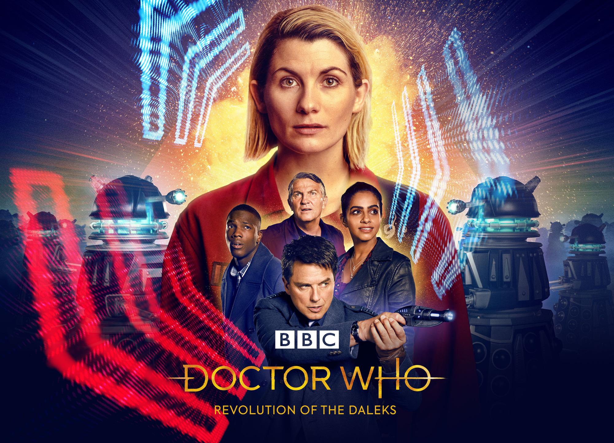 Doctor Who Revolution of the Daleks Thirteenth Doctor Captain Jack Yaz Graham Ryan