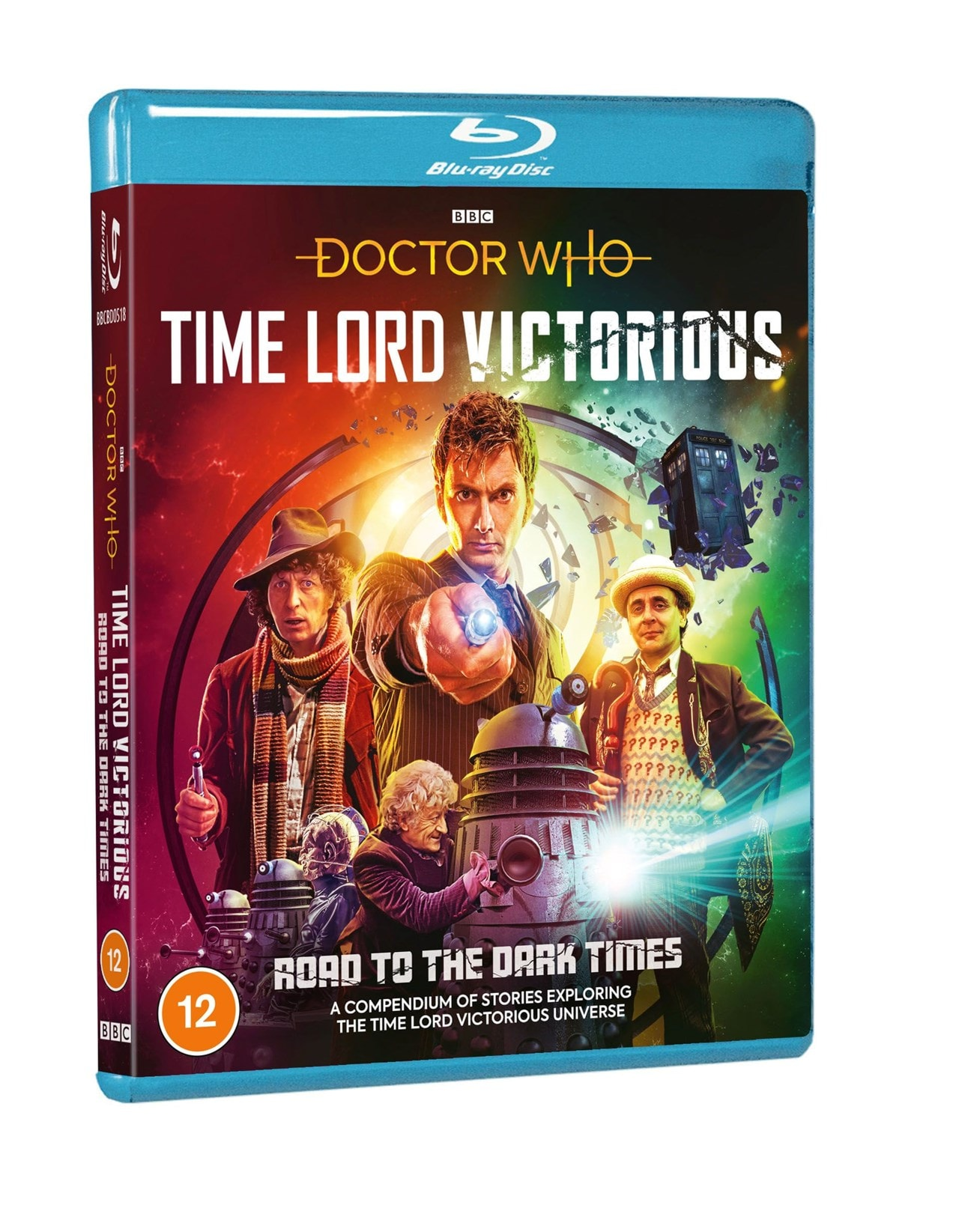 Doctor Who: Time Lord Victorious - Road to the Dark Times. Cover by Lee Binding (c) BBC Studios