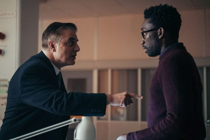 Doctor Who Special 2020 - Revolution Of The Daleks - Picture Shows: Robertson (CHRIS NOTH), Leo Rugazzi (NATHAN STEWART-JARRETT) - (C) BBC Studios - Photographer: James Pardon