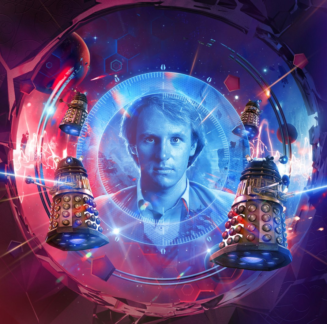 Doctor Who: Shadow of the Daleks 2. Cover art by Simon Holub (c) Big Finish Fifth Doctor Peter Davison