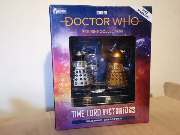 Doctor Who: The Figurine Collection #1,including the Dalek Drone and Dalek Emperor Photo c) Blogtor Who
