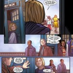 Titan Comics – Doctor Who: A Tale of Two Time Lords – Interior #1