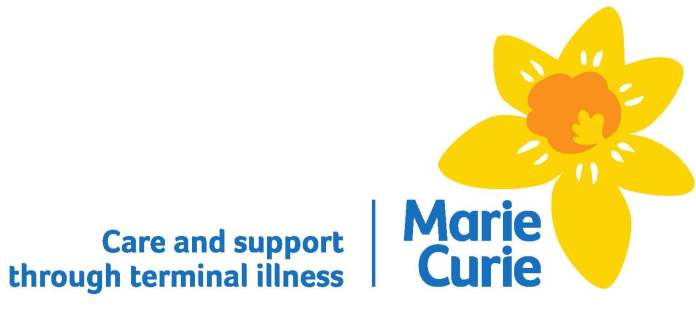 Marie Curie has been supporting terminally ill people in the UK since 1948 (c) Marie Curie