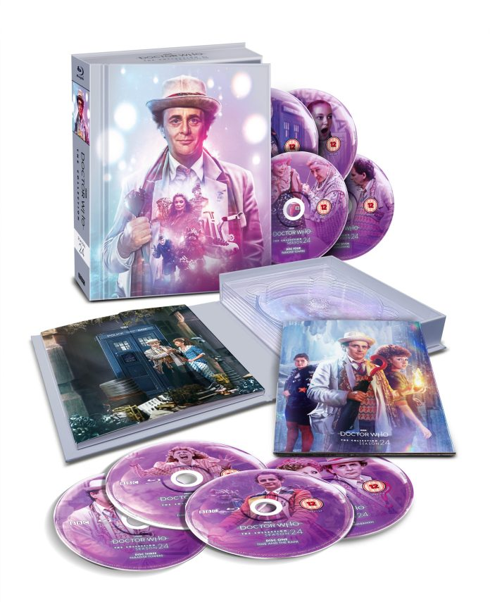 Doctor Who: The Collection - Season 24 - Pack Shot - Discs