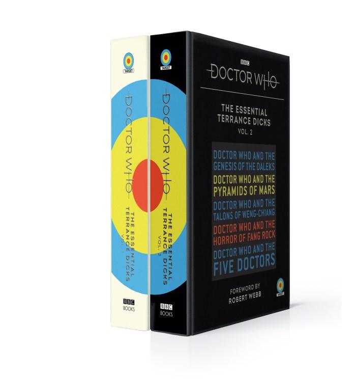 Essential Terrance Dicks Vol 1. and 2. (c) BBC Books