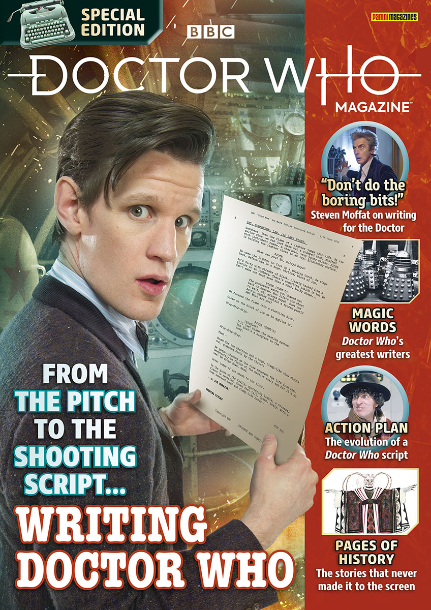 Doctor Who Magazine Special Edition 57: Writing Doctor Who (c) Panini Steven Moffat