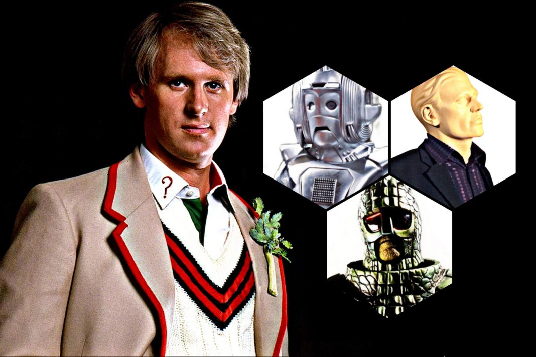Big Finish celebrates four decades of the Fifth Doctor with Doctor Who: Forty (c) BBC Studios Doctor Who Peter Davison Ice Warriors Cybermen Autons