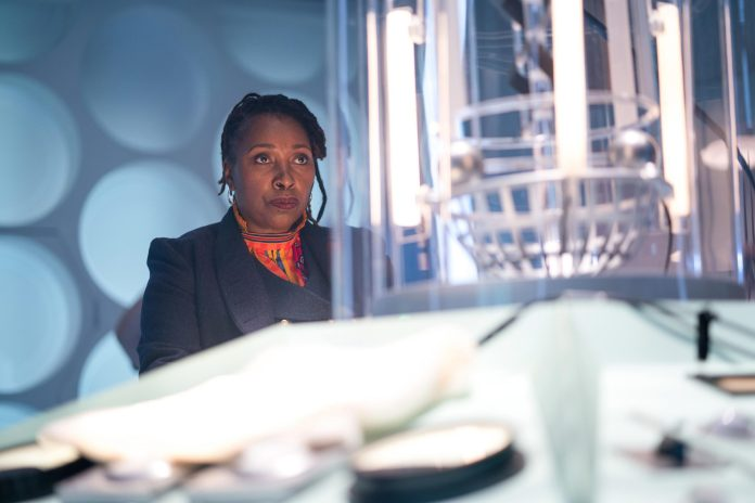 Fugitive of the Judoon is the episode which first introduced Jo Martin's renegade Doctor (c) BBC Studios Doctor Who TARDIS Fugitve Doctor Console Room