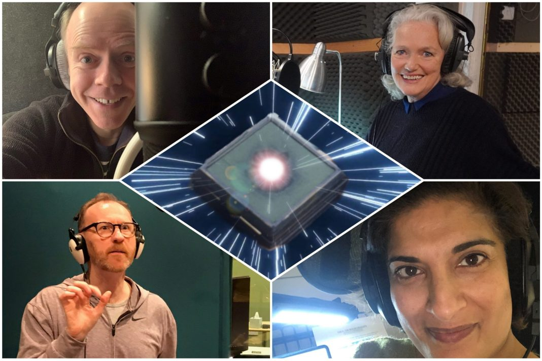 Some of the stellar cast of The Box of Delights (photos (c) Big Finish Productions)