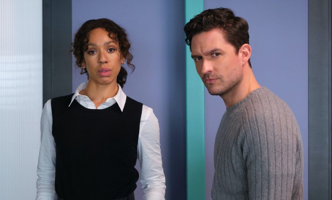 Pearl Mackie and Ben Aldridge play ITV's latest top detectives in The Long Call (c) ITV Doctor Who Bill Potts