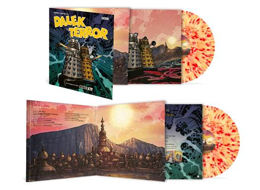 Dalek Terror is the latest in Doctor Who's popular Record Store Day releases (c) Demon Records