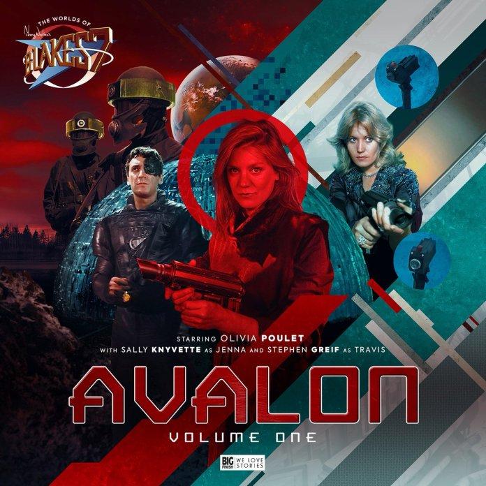 Avalon Volume One. Cover by Tom Newsom (c) Big Finish