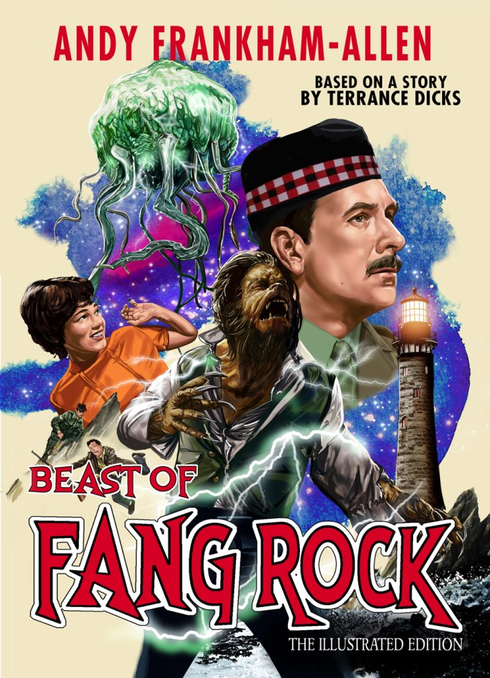 Beast of Fang Rock. Cover by Martin Baines (c) Candy Jar Books Doctor Who Brigadier Lethbridge-Stewart Horror of Fang Rock Anne Travers