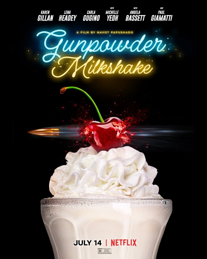 Gunpowder Milkshake (c) StudioCanal Karen Gillan Amy Pond Doctor Who