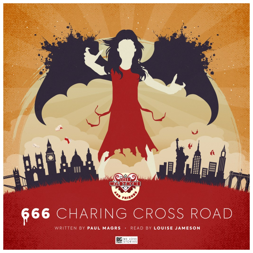 Iris Wildthyme & Friends: 666 Charing Cross Road. Cover by Mark Plastow (c) Big Finish Productions Doctor Who