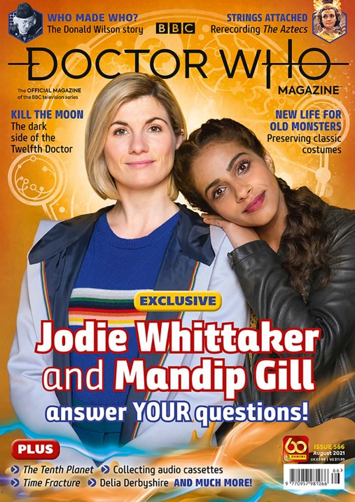 Doctor Who Magazine #566 (c) Panini Thirteenth Doctor Yaz Jodie Whittaker Mandip Gill