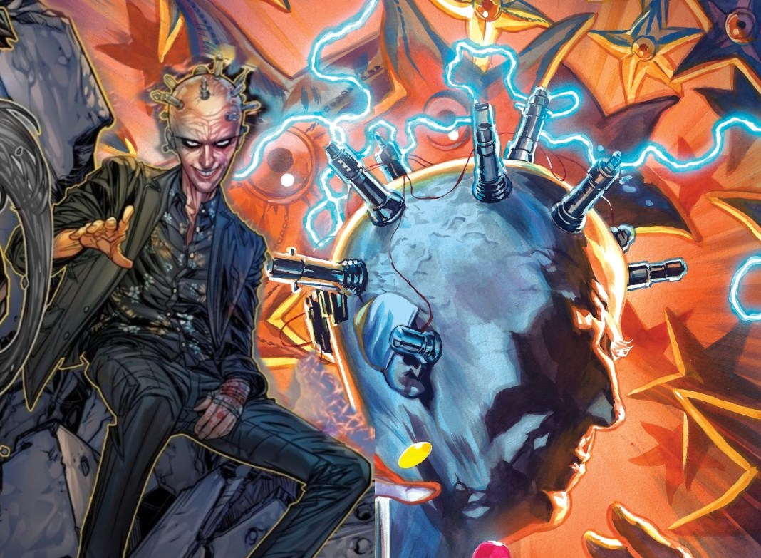 Peter Capaldi's Thinker stars on two covers from DC Comics in August (c) DC Comics The Suicide Squad Doctor Who Twelfth Doctor