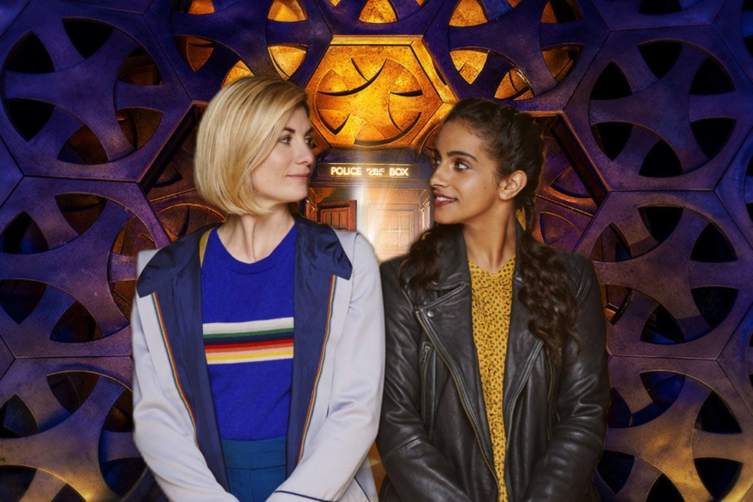 The Thirteenth Doctor and Yaz - heading for more adventure in Series 13! (c) BBC Studios Doctor Who Yasmin Khan Jodie Whittaker Mandip Gill TARDIS Console Room
