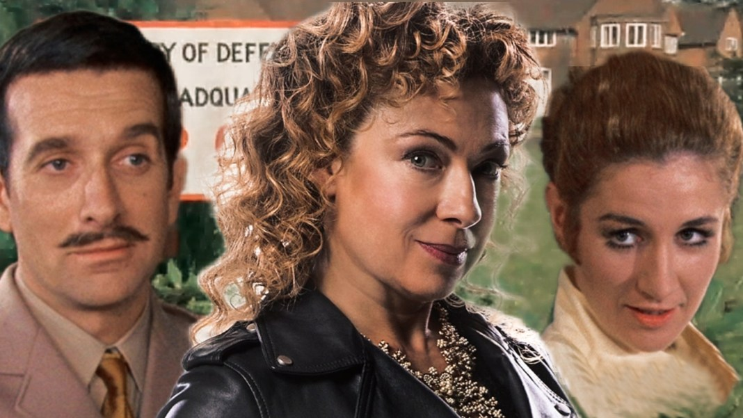 River Song becomes the Brigadier's new scientific advisor in New Recruit Doctor Who UNIT Liz Shaw Diary of River Song Big Finish Productions