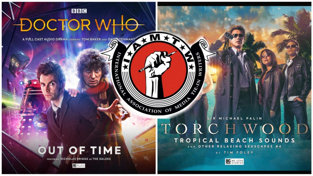 Big Finish Scribe Award Winners 2021 Out of Time Doctor Who Tom Baker David Tennant Torchwood Michael Palin Tropical Beach Sounds