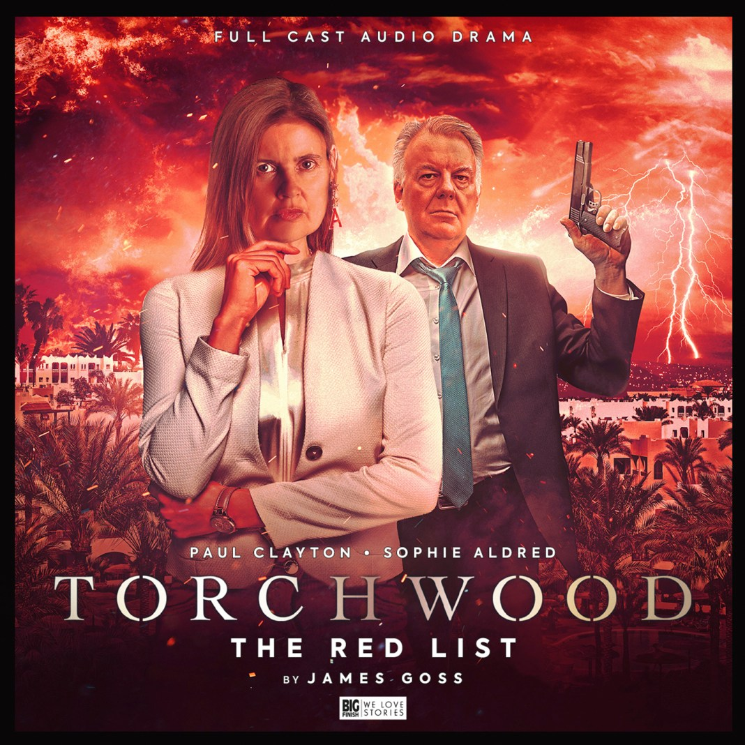Torchwood: The Red List (c) Big Finish Productions Ace Colchester Paul Clayton Sophie Aldred