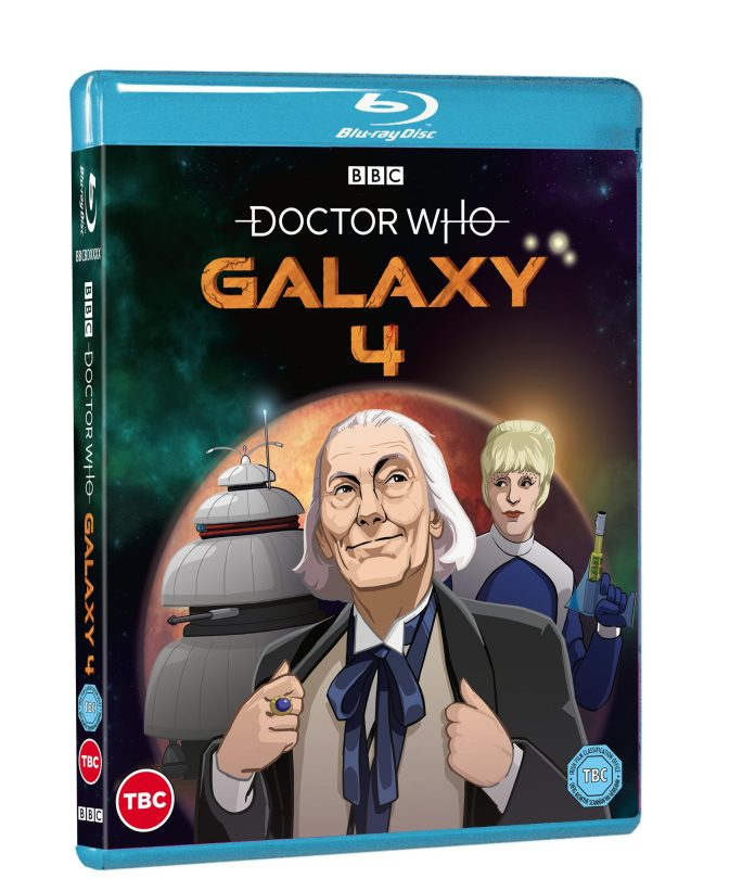 Doctor Who: Galaxy 4 (c) BBC Studios First Doctor William Hartnell Drahvins Maaga Chumblies Animated