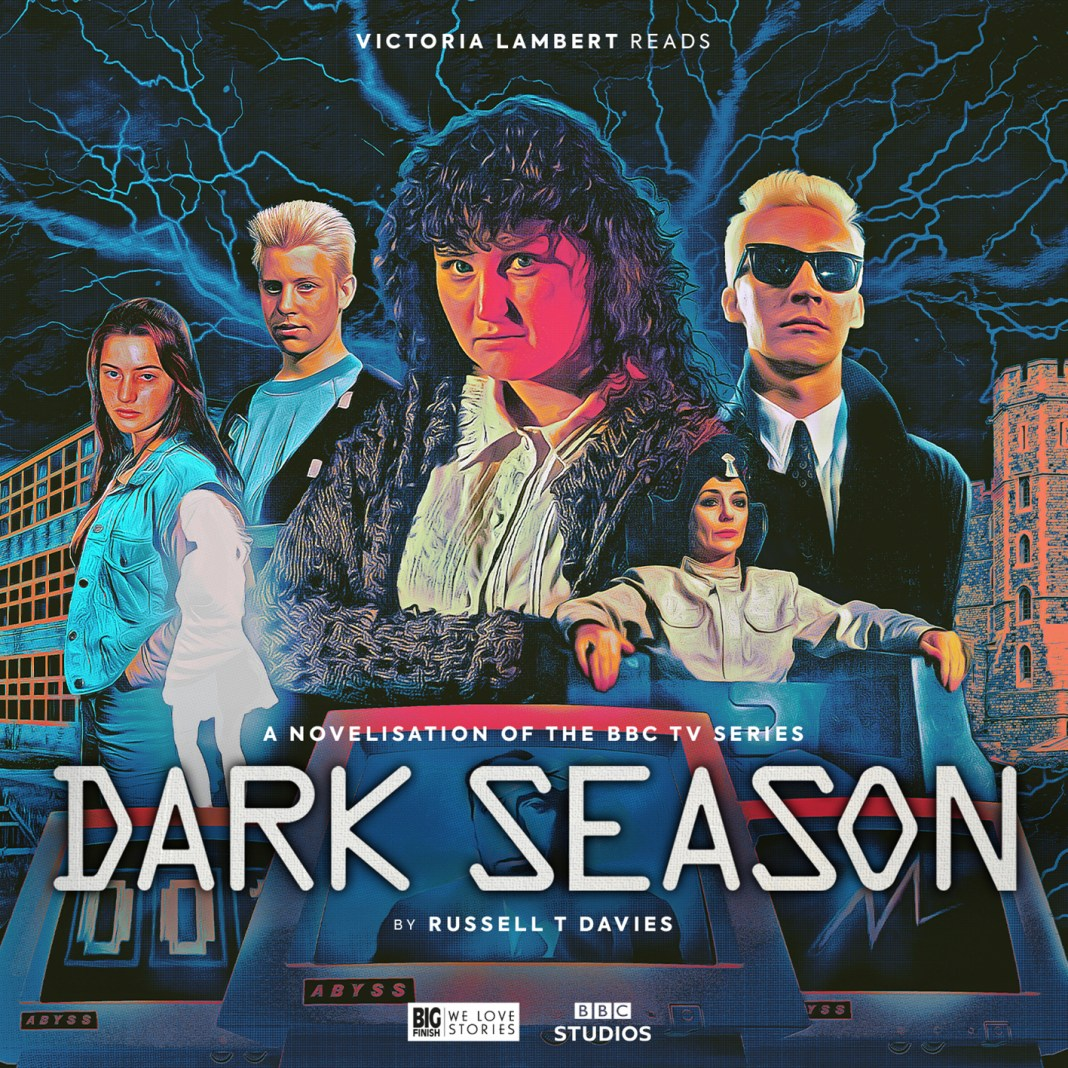 Dark Season. Cover by Sean Longmore. (c) Big Finish Productions Russell T Davies RTD Doctor Who Kate Winslet Jacqueline Pearse