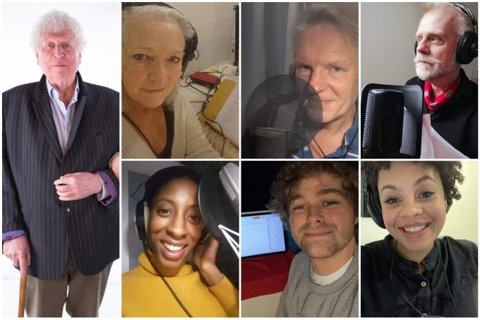 The cast of Doctor Who: The God of Phantoms (c) Big Finish Productions Philip Hinchcliffe Presents