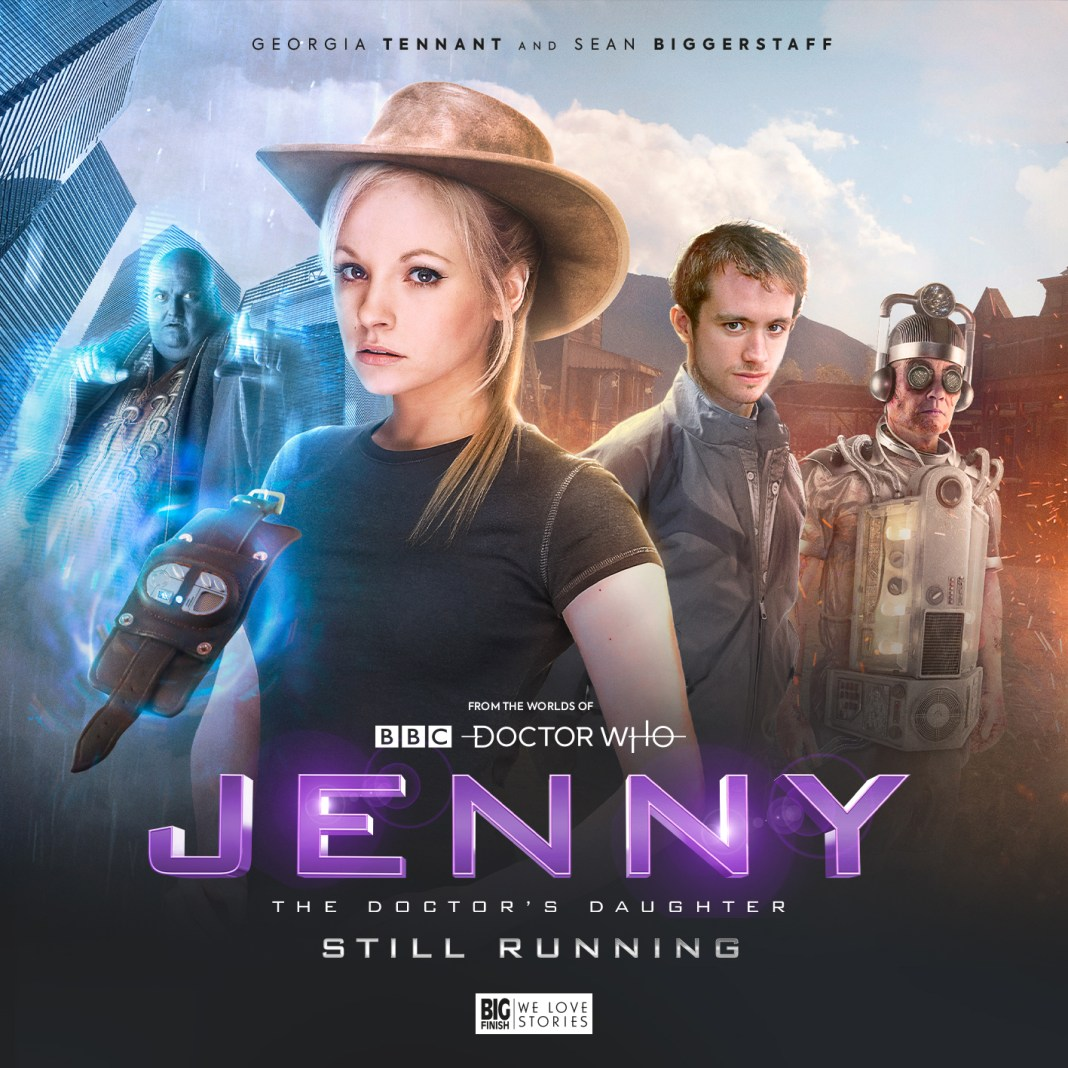 Jenny: The Doctor's Daughter - Still Running. (c) Big Finish Productions Doctor Who Georgia Tennant Sean Biggerstaff Cybermen
