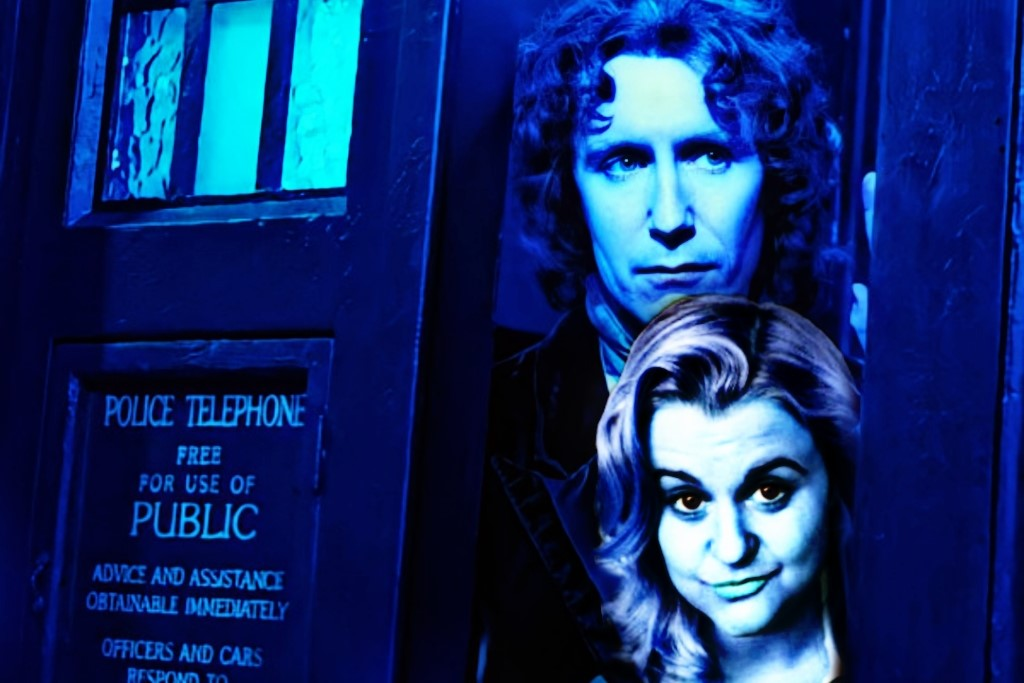 Paul McGann and India Fisher together again for 'Further Adventuress Doctor Who Eighth Doctor Charley Pollard' Eighth Doctor
