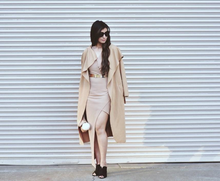 slit dress