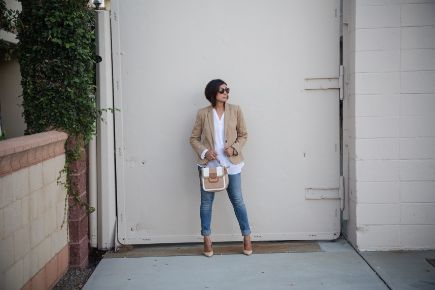 blazer and tunic