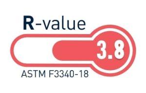 Matelas 1 R-value