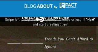 impact title generator