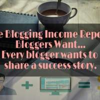 The Blogging Income Report Bloggers Want